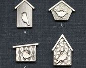birdhouse magnet  (pick your style)
