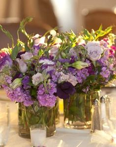 light purple wedding centerpieces | Visit galleries.weddingchannel.com