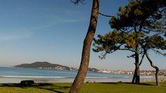 Panjon. Nigran. Galicia Spain. Sun. Beach. See. Holiday