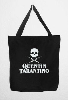 QUENTIN TARANTINO BOLSA Algodón Tote Bag. por RetroBCN en Etsy