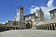 St Francis Lower Basilica Square
