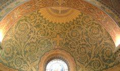 Szegedi dóm falfestmény Tapestry, Home Decor, Hanging Tapestry, Tapestries, Decoration Home, Room Decor, Home Interior Design, Needlepoint, Wallpapers