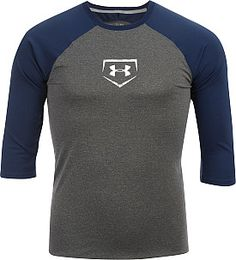 Under Armour Men's Baseball Fitted 3/4 Sleeve T-Shirt - Dick's Sporting Goods