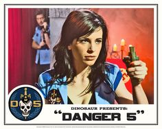 "Danger 5 Lobby Card #10 - ""Seed of the Fatherland"""