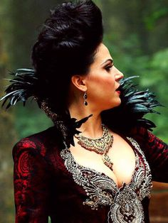 OUAT  Promotional Photos Season 3 The Evil Queen....Lana Parrilla