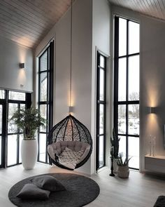 Portentous Cool Ideas: Minimalist Bedroom Men Modern minimalist home with children bunk bed.Minimalist Home Design Desk Areas minimalist bedroom ideas floor plans.Desain Rumah Minimalist Home Interiors. Living Room Modern, Home And Living, Living Room Designs, Living Room Decor, Cozy Living, Simple Living, Nordic Living, Living Room With Windows, Sconces Living Room
