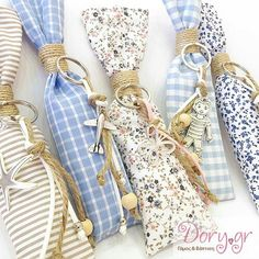 gr- Handmade fabric long and slim pouch for a boboniera Baptism Favors, Baptism Gifts, Baby Girl Christening, Lavender Bags, Little Boy And Girl, Cute Diys, Wedding Favors, New Baby Products, Baby Boy