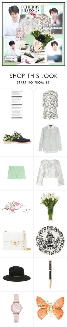 """""""Chapter 16: How Can I Love You?"""" by summervintage ❤ liked on Polyvore featuring Arche, nature republic, Giambattista Valli, Anouki, Rochas, Vanessa Bruno Athé, Razan Alazzouni, NDI, Chanel and iittala"""