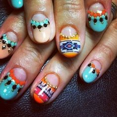 Bold Nail Patterns - Beth Hudson