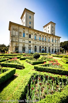 Villa Borghese, Rome, Italy - Andrea's niece will spend several weeks at the American Academy