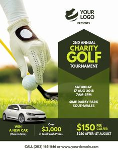 """Explore our site for additional relevant information on """"Golf Tournament"""". It is actually a great location to find out more. Fundraising Poster, Fundraising Events, Charity Poster, Photo Clipart, Team Schedule, Golf Day, Club Flyers, Golf Player, Sports Graphics"""