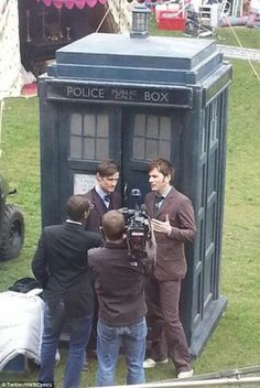 Matt Smith and David Tennant interview for 50th anniversary special!