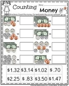 Money Worksheets for 2nd Grade | Money worksheets, Worksheets and Count