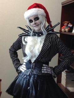 Image result for jack skellington gender swap  sc 1 st  Pinterest & Jack Skellington costume | Halloween 2016 - Nightmare Before ...