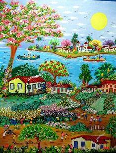 25 Meilleures Images Du Tableau Peinture Haitienne Caribbean Art
