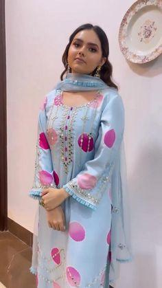 Indian Fashion Dresses, Indian Designer Outfits, Indian Outfits, Designer Dresses, Fashion Outfits, Amritsar, Anarkali, Sarara Dress, Patiala Suit Designs