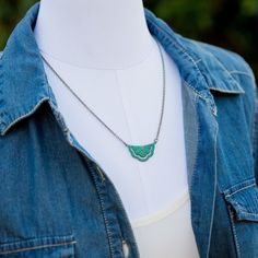 #tbt to one of our favorite boho/southwestern inspired pieces!  #boho #southwestern #jewelry #bohemian #bohojewelry #bohonecklace #necklace #patina #green #summerjewelry #springishere #summeriscoming #ootd #accessories #leoandlovey #etsy #etsyshop