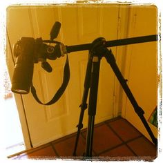 Manfrotto Tripod- a side arm is something I had no idea I needed until I got one.