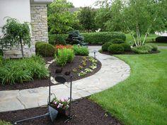 Stone Walkway to the Garden