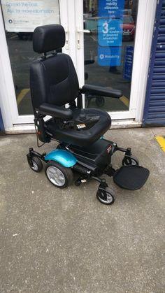 Rascal P327 Mini capatain seat compact electric powered wheelchair **EX DEMO**