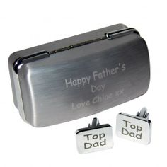 Personalised Top Dad Cufflinks  from Personalised Gifts Shop - ONLY £19.99