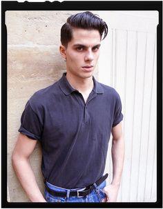 A fan of Little Richard, life at high speed, and rockabilly music, Lucas Valerdi, 19, from Bordeaux, is the latest newcomer to nab Model of the Week.