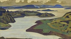 Mountains landscapes by Nicholas Roerich