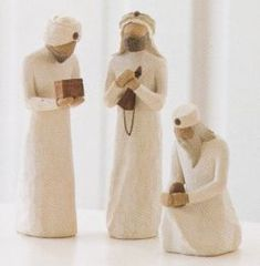 Willow Tree The Three Wisemen from the AngelSuperStore.com