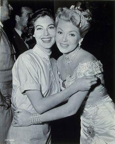 Ava Gardner & Lana Turner