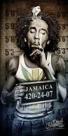 Reggae Bob Marley, Bob Marley Art, Arte Hip Hop, Hip Hop Art, Bob Marley Painting, Rasta Art, Weed Wallpaper, Reggae Art, Bob Marley Pictures