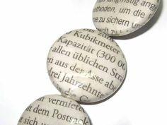 Papiertaler mit Zeitung 26 mm