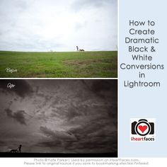 How to Create Dramatic Black and White Photos {Before & After Tutorial}