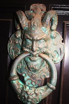 love this door knocker, York, England