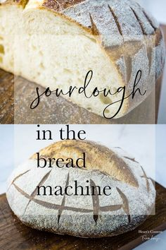 Looking for a true sourdough bread that doesn't need tons of babysitting? This one is kneaded right in your machine. Dutch Oven Sourdough Bread Recipe, Sourdough Bread Machine, Sourdough Pizza, Sourdough Recipes, Recipe Breadmaker, Bread Pizza, Yeast Bread, Artisan Bread Recipes, Bread Maker Recipes
