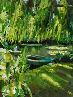Jan De Vliegher ~ Garden 6 Series -- 2011. Belgian Artist, b.1964-  olie op doek200x150cm