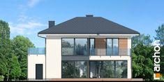 Projekt domu Willa Miranda 2 (G2) - ARCHON+ Gazebo, Outdoor Structures, House Design, Kiosk, Pavilion, Cabana, Architecture Design, House Plans, Home Design