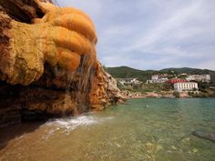 I'm travelling today to the thermal springs of Edipsos - Evia - Central Greece Spa Water, Colorful Pictures, Hot Springs, Snorkeling, Athens, Night Life, Greece, Tourism, Surfing