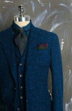 Speckled tweed