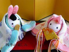 四季彩うさぎ 雛祭りの飾り 十二単うさちゃん 和華舞柄  四季彩うさぎの四季の楽しみ