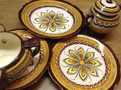 Midcentury Henriot Quimper French dishes by MinaLucinda on Etsy