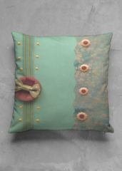 green button pillow: What a beautiful product!