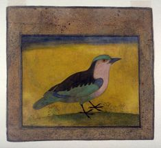 Blue Roller Bird:  Anonymous, ca. 1600–1620, India.