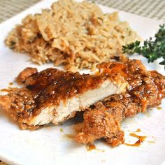 Mom, What's For Dinner?: Double Crunch Honey Garlic Chicken Breasts