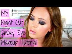 My Night Out Smoky Eye Makeup Tutorial! - YouTube
