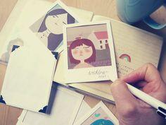 Marcos Polaroid hechos a mano de IsabelReyesFeeney