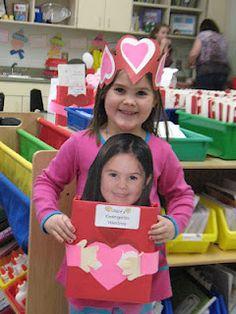 Mrs. Morrow's Kindergarten  Cute valentine box idea