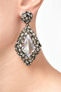 ALEXIS BITTAR Crystal Pendant Earrings $ 525