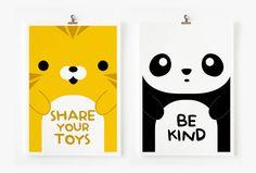 Children Decor Good Manners Flash Cards, Kids Wall Art set of 15, Children's Art. $16.00, via Etsy.