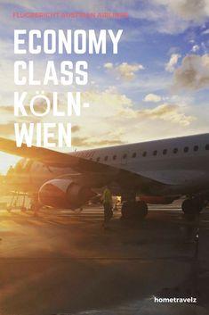 Unser Flugbericht über den Flug mit Austrian Airlines in der Economy Class von Wien zum Flughafen Köln Bonn in der Economy Class. Der Flug im neuen Embraer E195 und was ihr dort erwarten könnt, gibt es im Blog