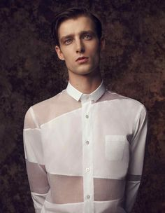 homme–models: Laurie Harding by Dima Hohlov for How To Spend It Magazine Space Fashion, Men's Fashion, Fashion Moda, Fashion Details, Fashion Outfits, Fashion Design, Fashion Shirts, Edgy Outfits, Men Looks